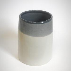 Vase en Grès de la collection Bicrome - Pièce tournée à l'atelier - Céramique alimentaire et décorative